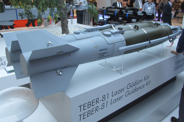 IDEF 2015: First view of Teber laser guidance kit