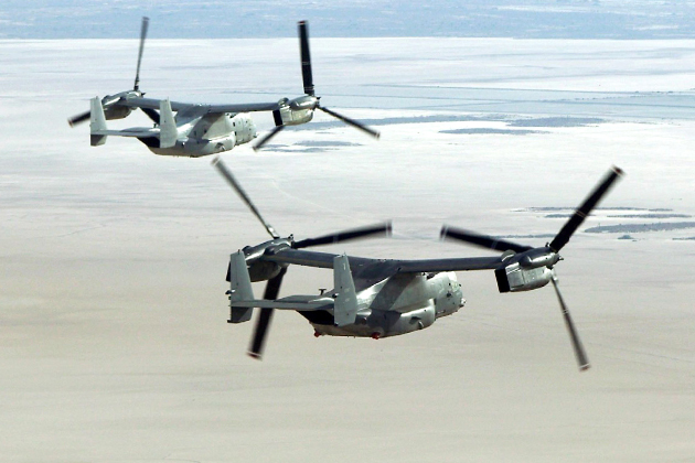 AFA 2012: AFSOC works to solve CV-22 engine issues
