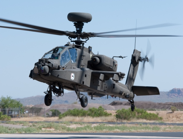 US Army receives first Block III Apache
