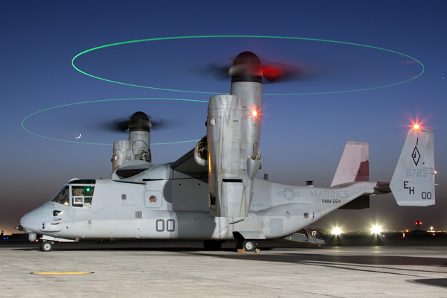 US Navy congratulated for reducing V-22 flight hour costs