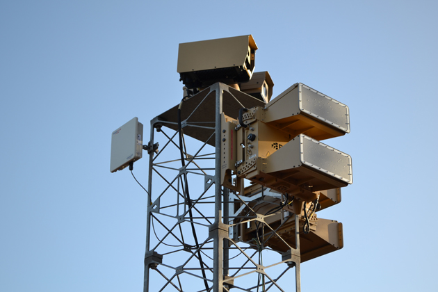 Blighter B400 radars for Middle East air base