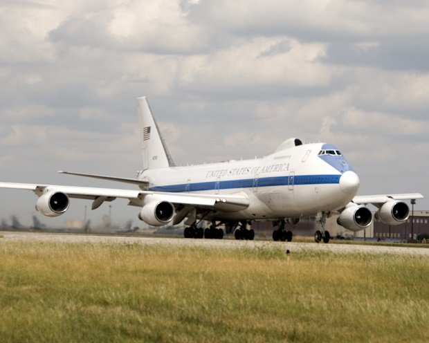 Maintenance completed early on E-4B