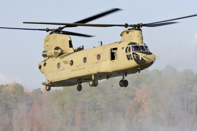 Boeing submits Chinook multi-year contract proposal to US Army