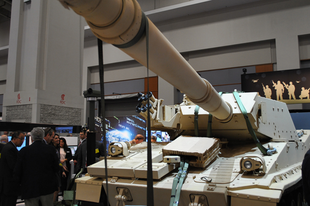 AUSA 2015: BAE light tank goes back to the future