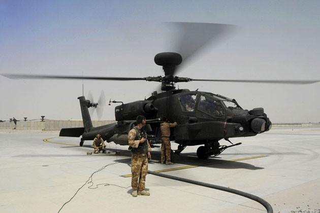 US approves Boeing upgrade of UK Apaches