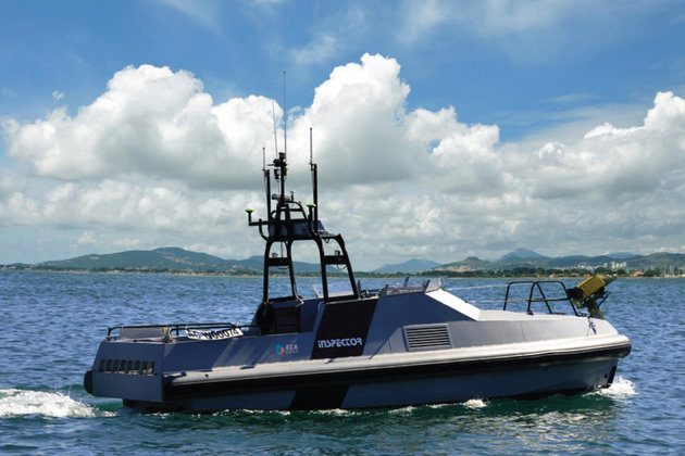 ECA Group wins two export contracts for USVs