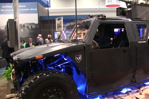 AUSA 2015: Release the hounds (video)