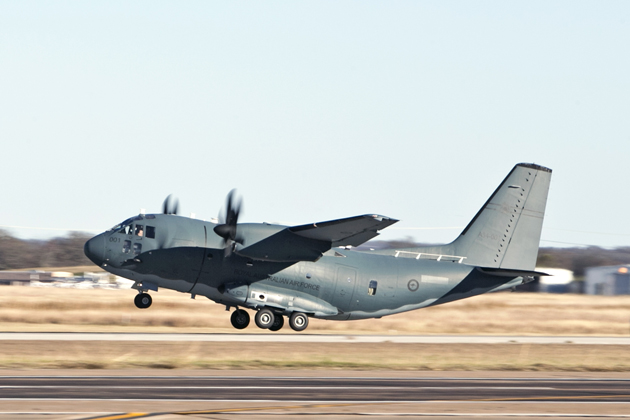 RAAF to start C-27J Spartan flight training