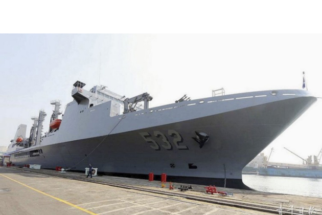 Taiwan receives new support ship