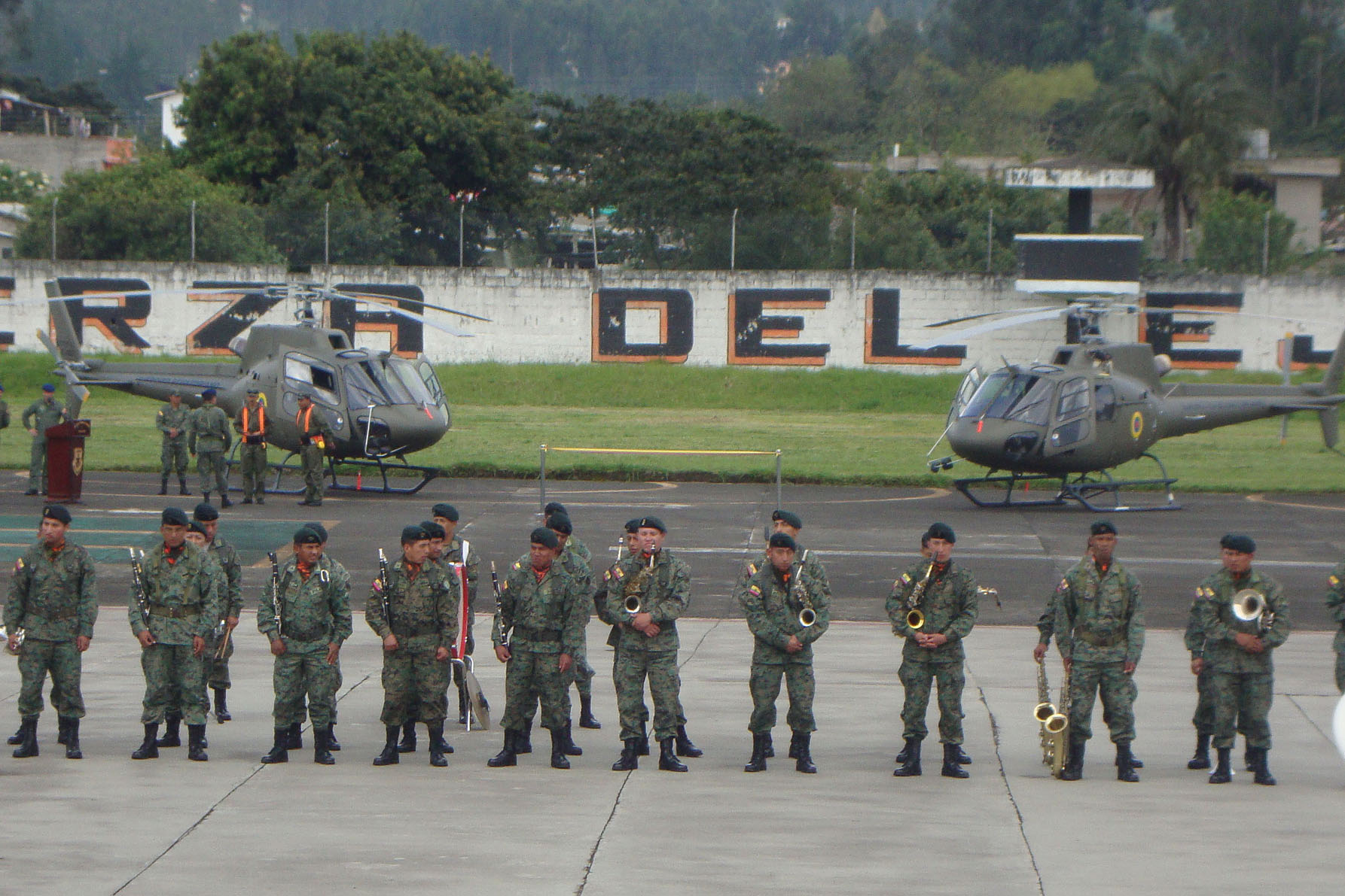 AS350 B2s delivered to the Ecuadorian Army