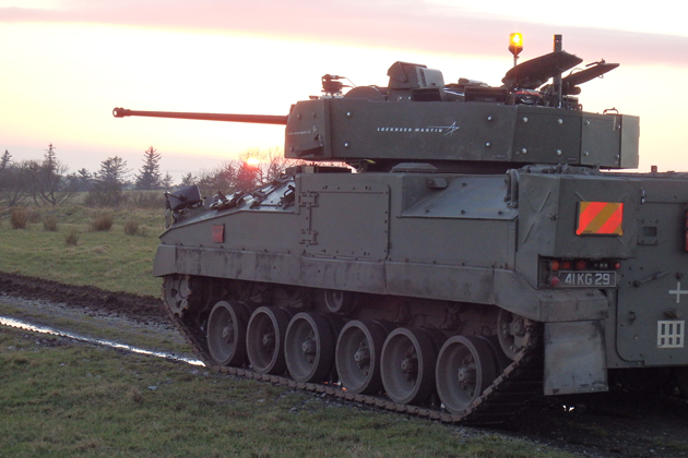 New Warrior turret completes on-the-move firing