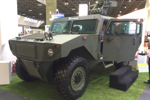 LAAD 2015: Brazil-made Gladiador II makes first appearance