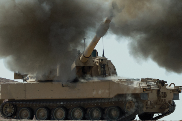 US Army receives first LRIP self-propelled Howitzer