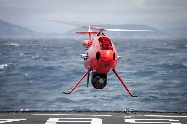 Italian Navy selects Schiebel's Camcopter S-100 UAV