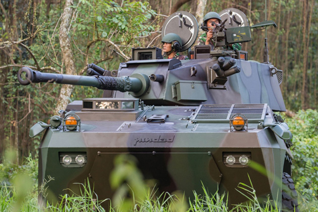 IndoDefence: PT Pindad Badak breaks cover