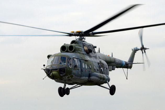 Russian Helicopters tests Mi-171A2 flying lab
