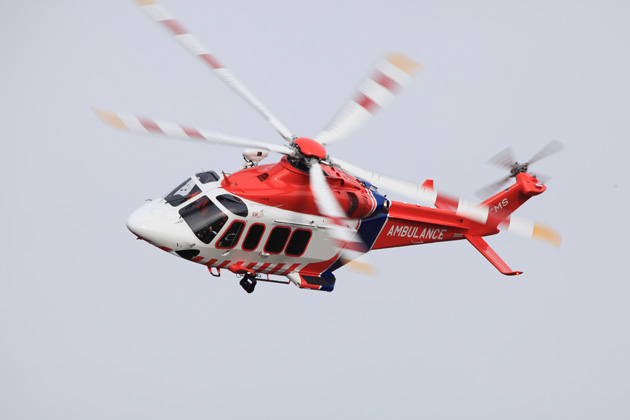 Ambulance Victoria receives AW139 helicopter