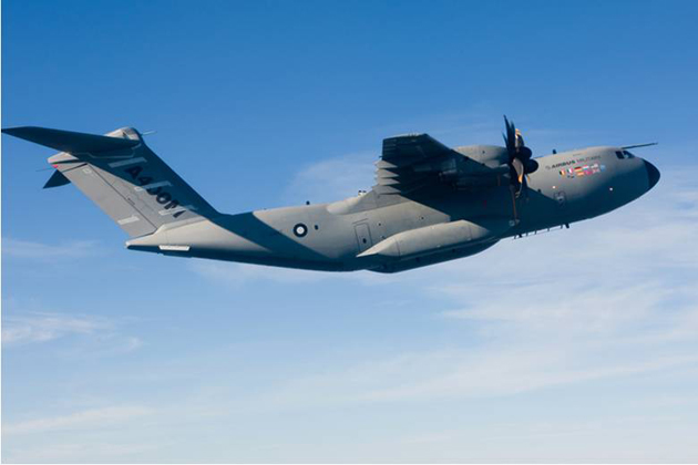 A400M receives EASA initial type certificate