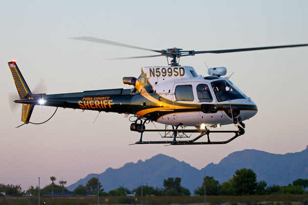 PCSD introduces its new AS350 B3e helicopter