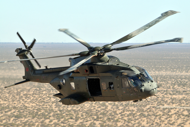 AFA 2012: Northrop Grumman to offer AW101 for US programmes