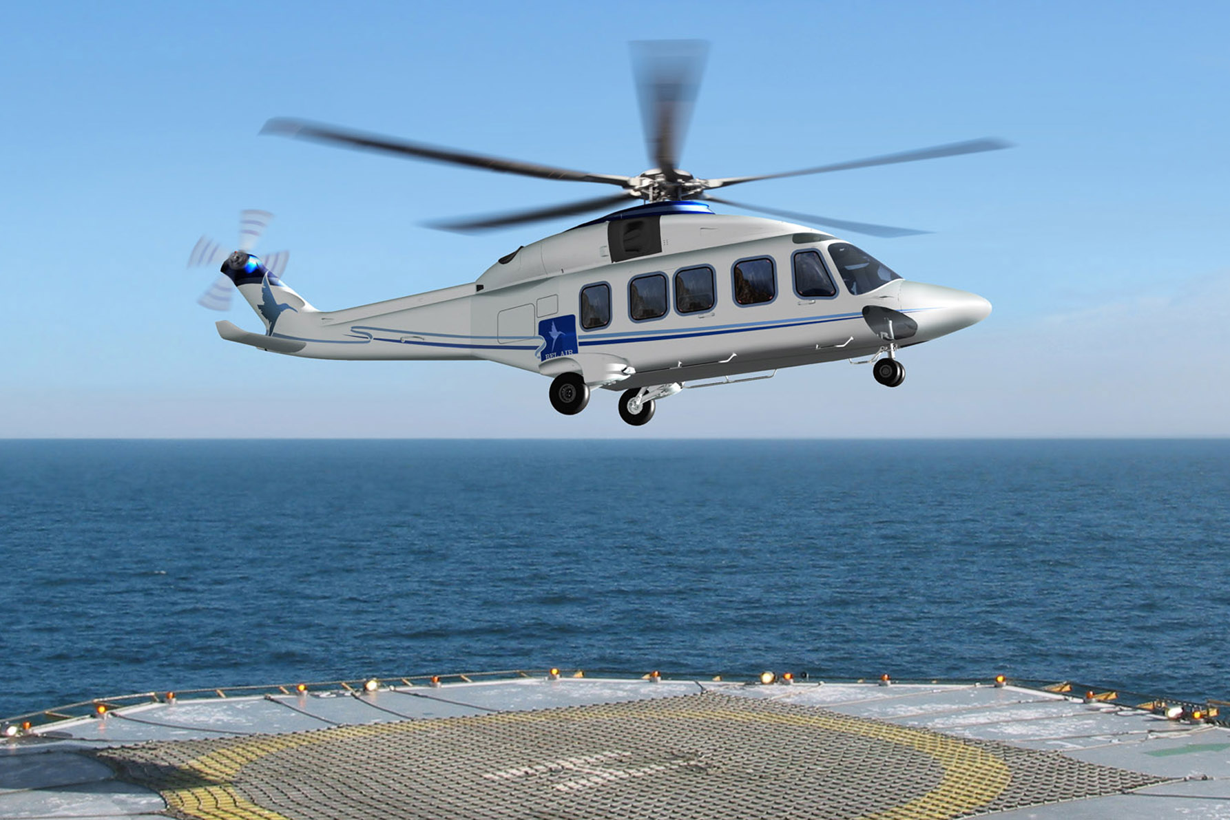 Two AW189 helicopters for Bel Air