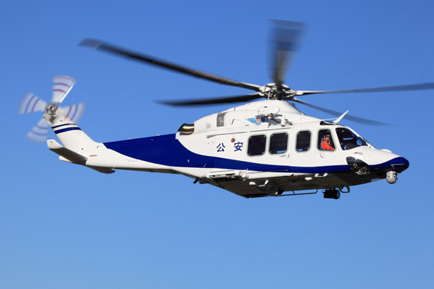 Two AW139s for Beijing Municipal Public Security Bureau