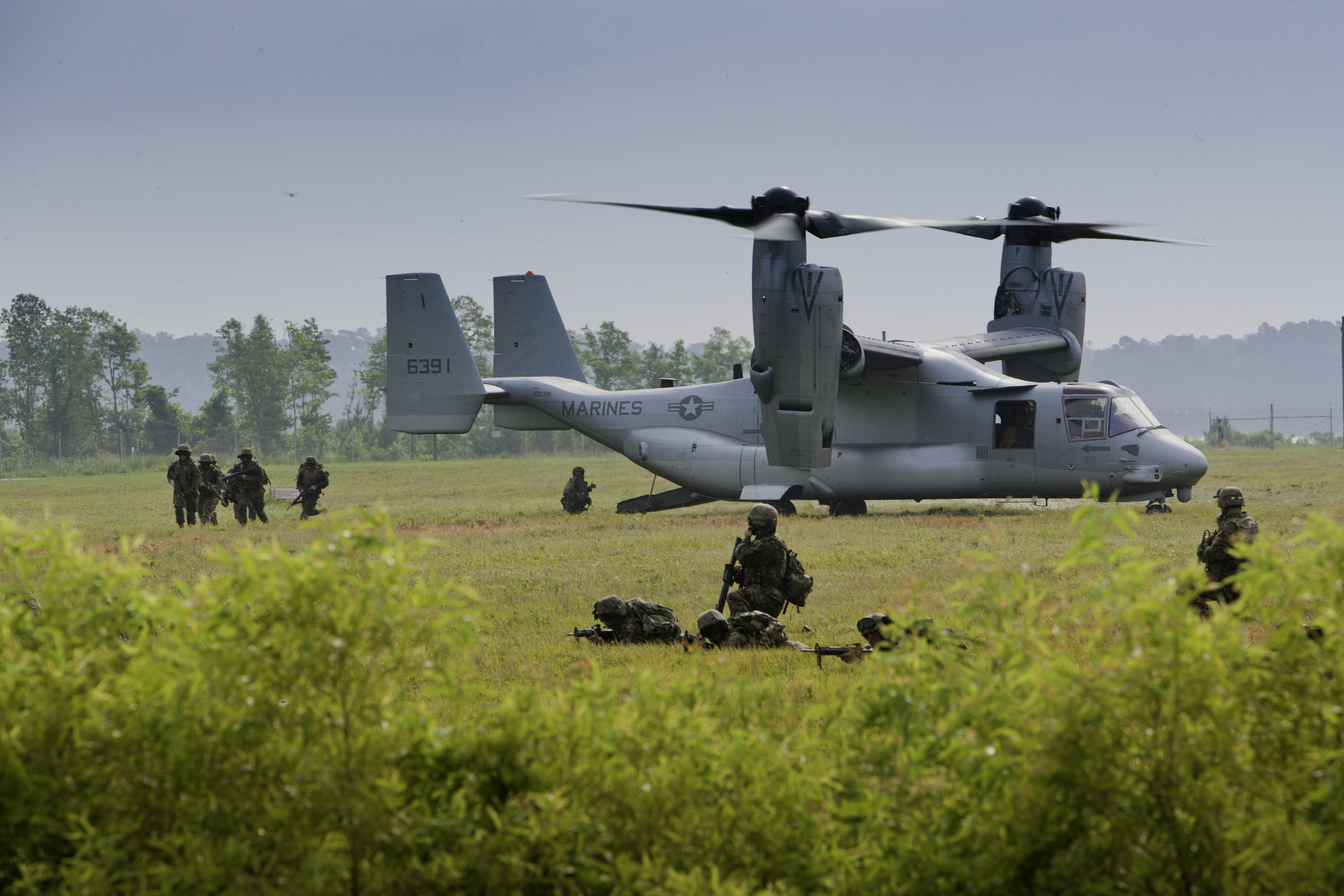 SGA2012: USMC receives first Block C-configured MV-22 Osprey
