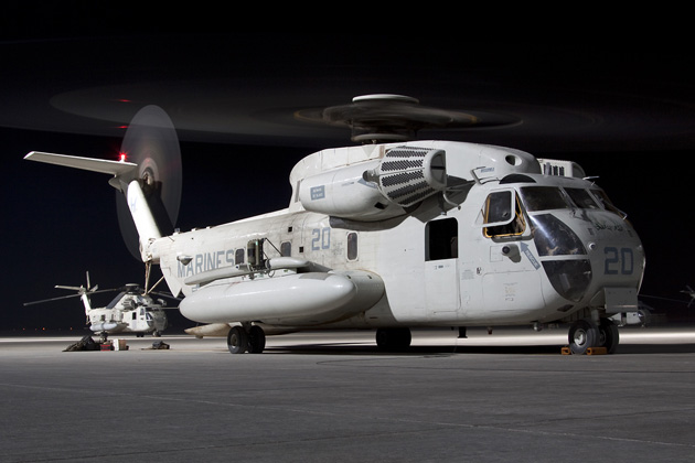 US Marine Corps retires CH-53D