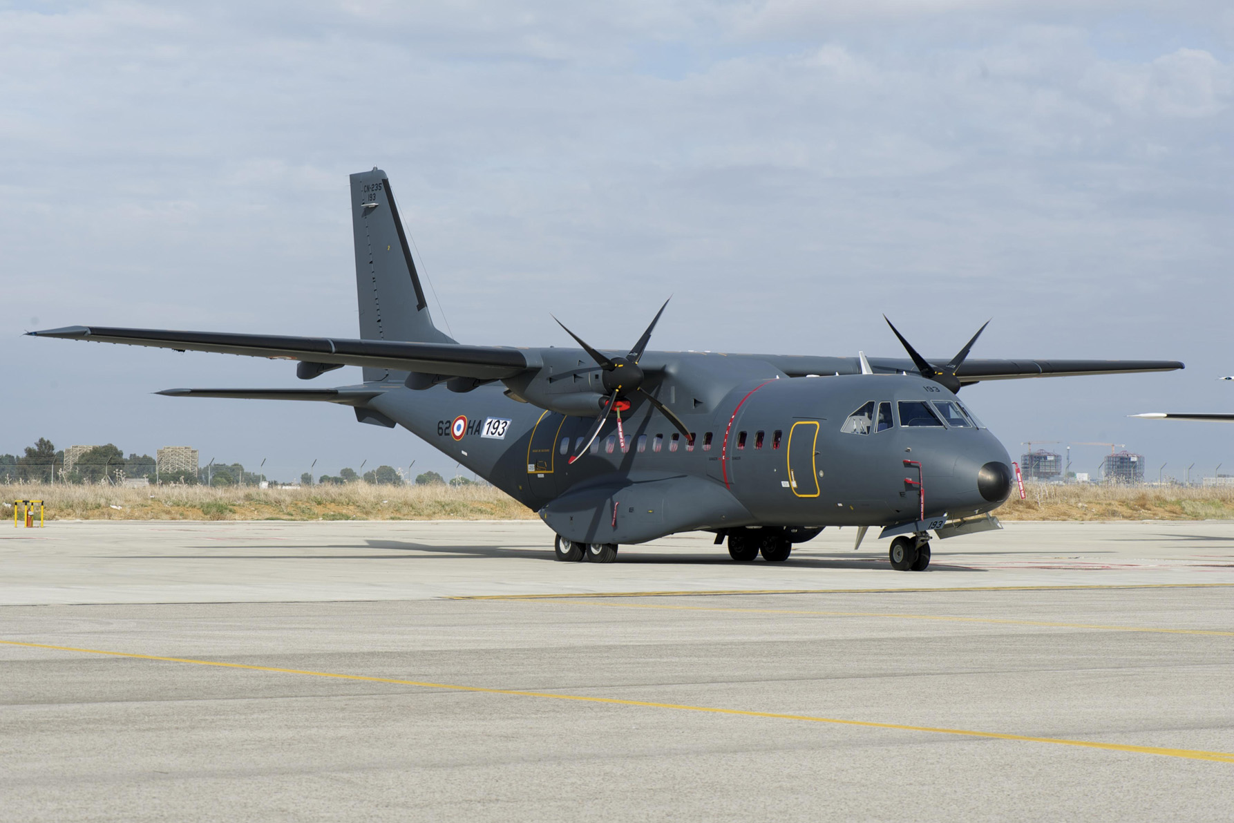 France takes delivery of CN235