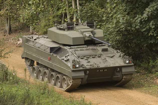UK MoD gives go-ahead for WCSP