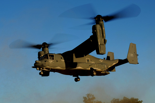 AFSOC defends CV-22