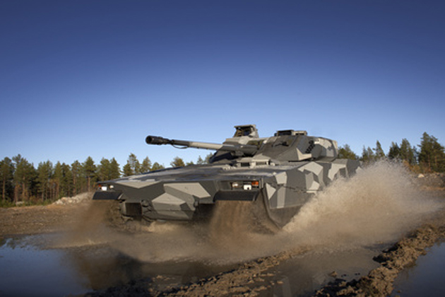 Saab selected for CV90 electronics