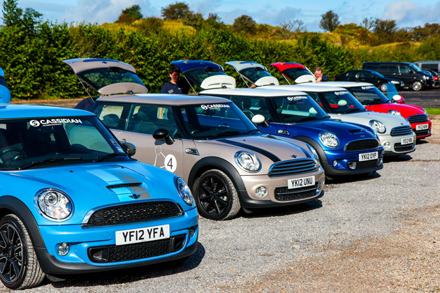Cassidian uses Mini Cooper cars to test Mobile IP Node concept for UAVs