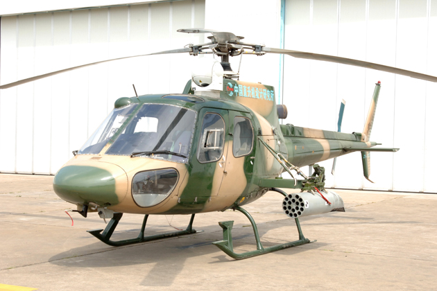 FIDAE 2012: FAdeA to push ahead with Chinese helicopter production