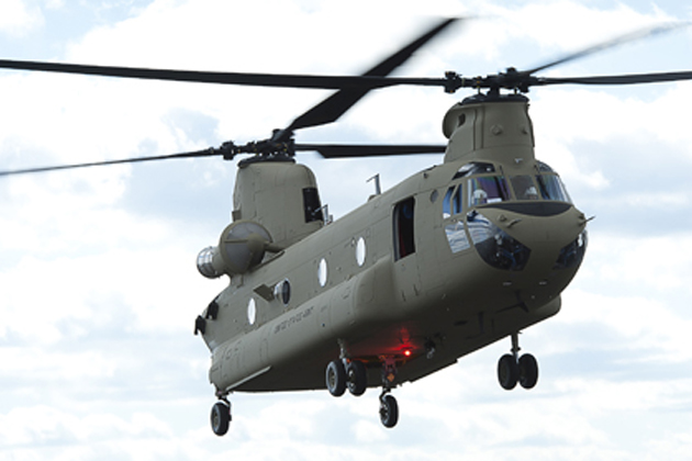 Boeing wins Chinook contract