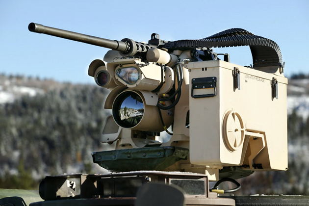 Rheinmetall to supply CROWS III weapon components