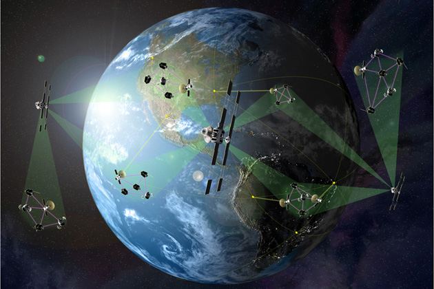 DARPA prepares for System F6 satellite cluster demonstration