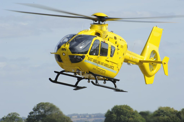 East Anglian Air Ambulance takes delivery of night capable EC135