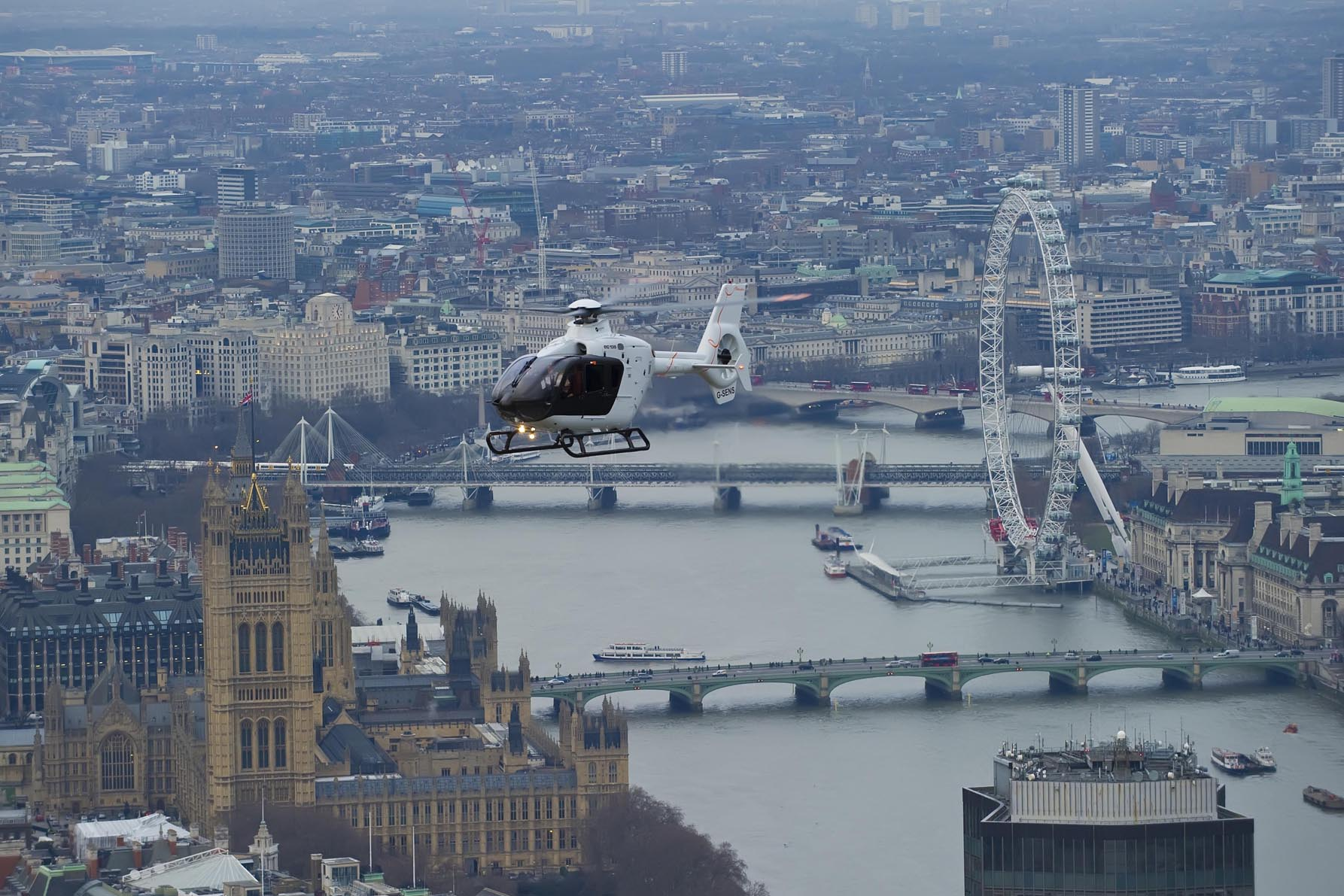New Eurocopter deliveries announced