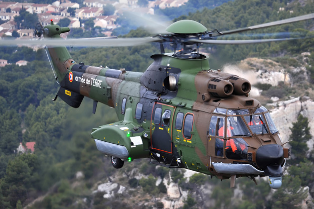 First updated Cougar delivered back to the French Army