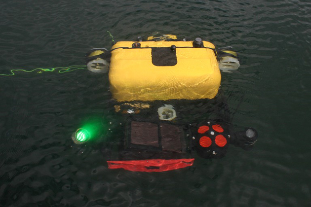 Bluefin Robotics completes testing for HAUV-3