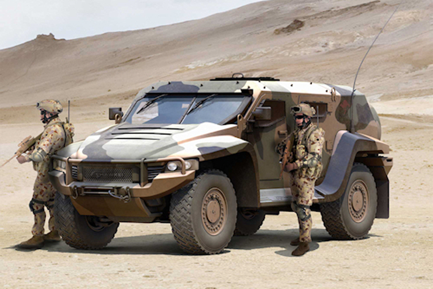 Australia selects Thales Hawkei