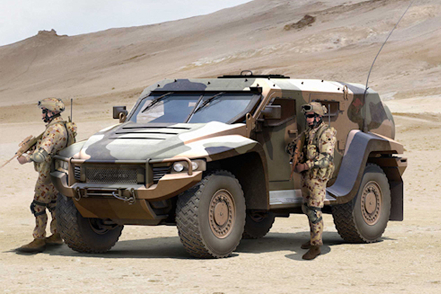 Australia readies for Hawkei development