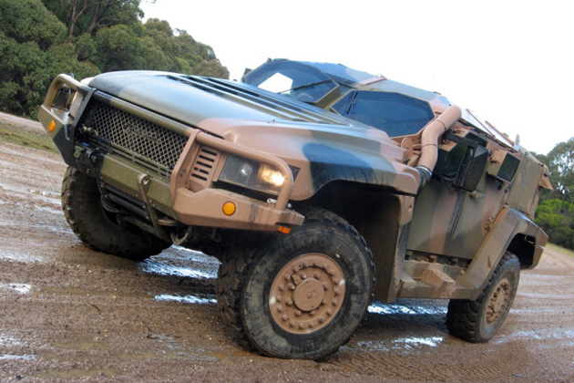 Boeing to provide logistic support for Australia's Hawkei project