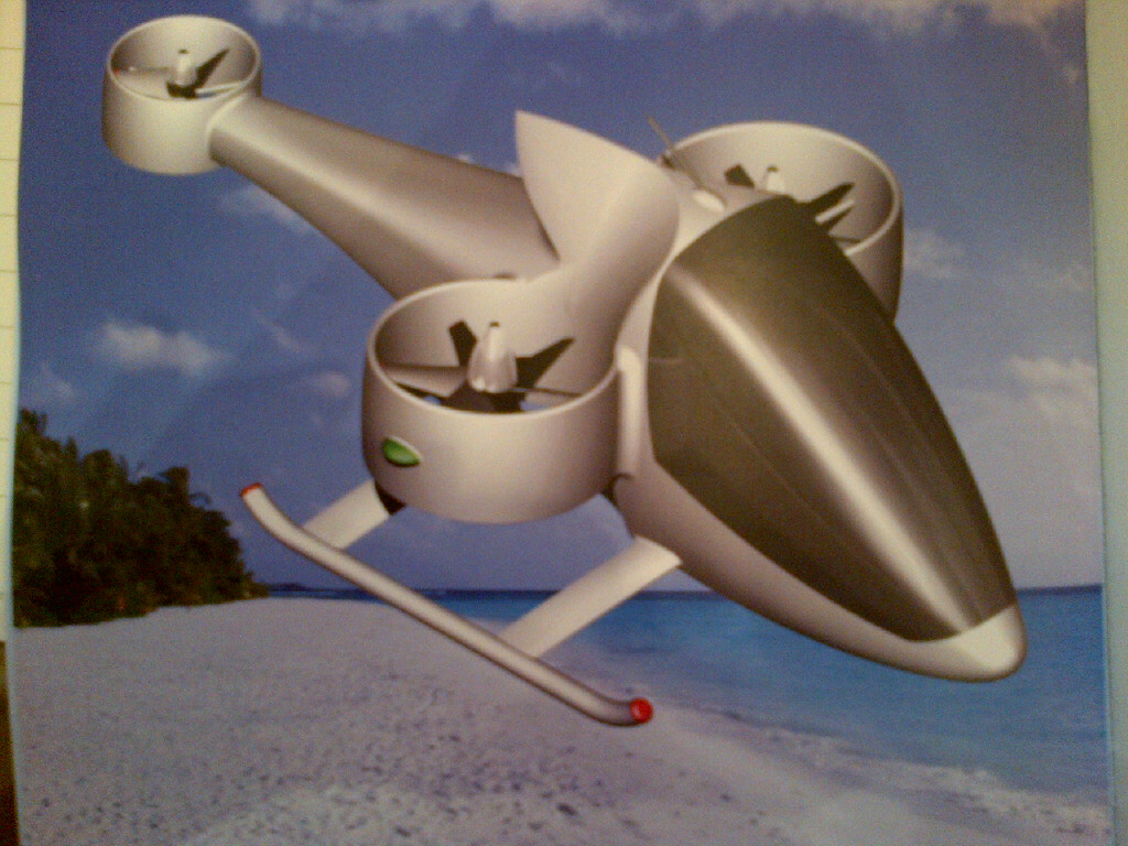 Dubai Helishow 2012: Ukrainian company displaying 'flying car' concept