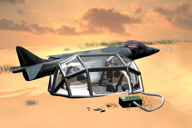 Farnborough 2012: Aero Sekur exhibits new portable MRO facility
