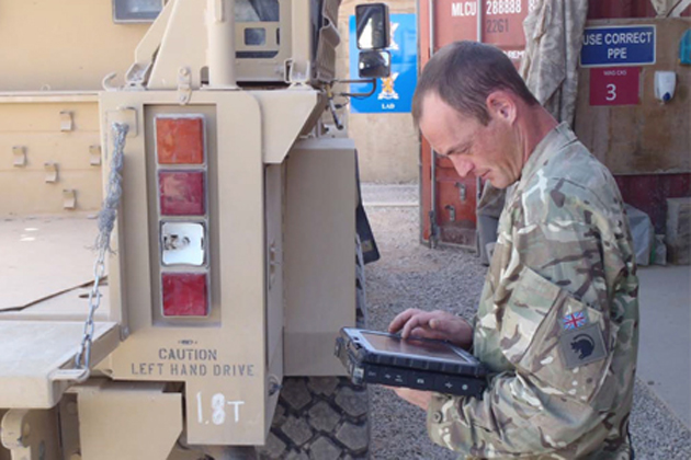 British forces deploy JAMES technology