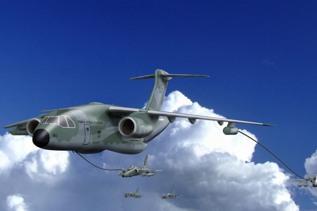Farnborough 2012: KC-390 continues on track
