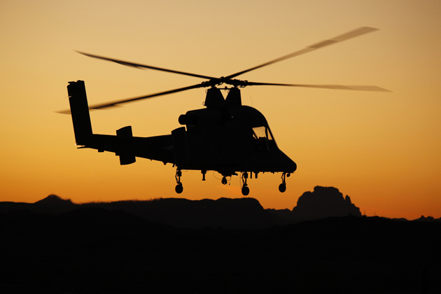 Heli-Expo 2012: K-Max proves worth in Afghanistan