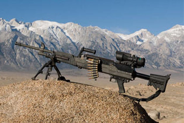 General Dynamics unveils new machine gun